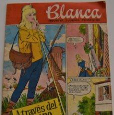 Tebeos: BLANCA Nº 40 - REVISTA JUVENIL FEMENINA - AÑO 1961 - ATRAVES DEL TIEMPO. Lote 185968845