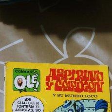 Tebeos: COLECCIÓN OLÉ Nº 51 ASPIRINO Y COLODION ALFONSO FIGUERAS 1ª EDICIÓN Nº LOMO BRUGUERA 1972. Lote 186007442