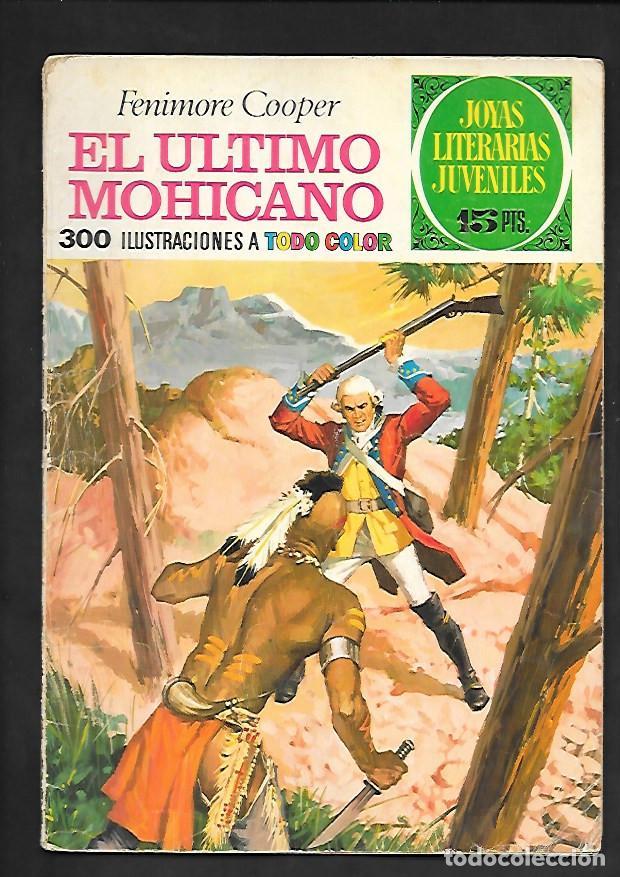 JOYAS LITERARIAS JUVENILES NUMERO 12 EL ULTIMO MOHICANO (Tebeos y Comics - Bruguera - Joyas Literarias)