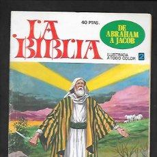 Tebeos: LA BIBLIA NUMERO 2 DE ABRAHAM A JACOB. Lote 186024248