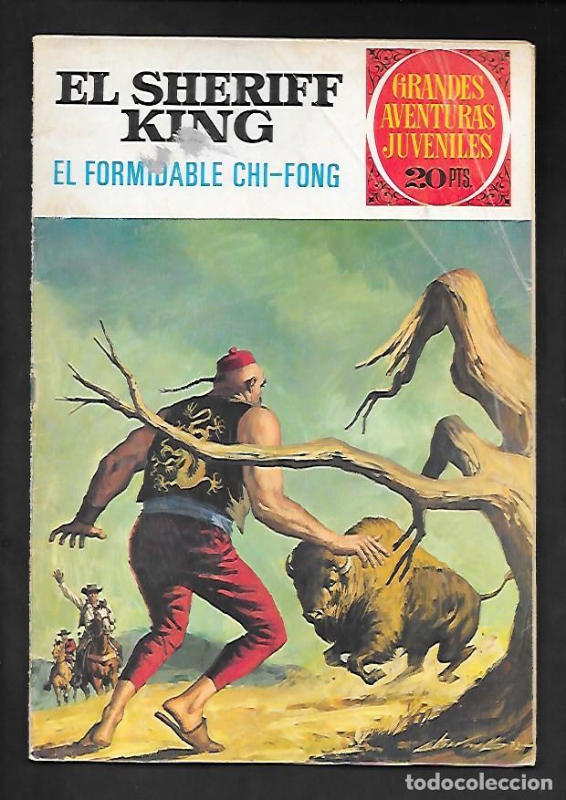 GRANDES AVENTURAS JUVENILES NUMERO 26 EL SHERIFF KING EL FORMIDABLE CHI-FONG (Tebeos y Comics - Bruguera - Sheriff King)