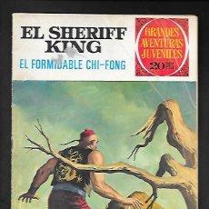 Tebeos: GRANDES AVENTURAS JUVENILES NUMERO 26 EL SHERIFF KING EL FORMIDABLE CHI-FONG. Lote 186025150