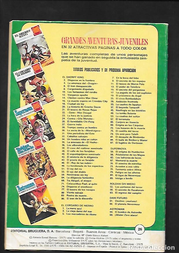 Tebeos: GRANDES AVENTURAS JUVENILES NUMERO 26 EL SHERIFF KING EL FORMIDABLE CHI-FONG - Foto 2 - 186025150