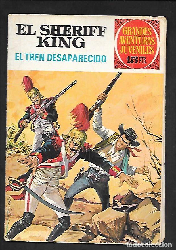 GRANDES AVENTURAS JUVENILES NUMERO 6 EL SHERIFF KING EL TREN DESAPARECIDO (Tebeos y Comics - Bruguera - Sheriff King)