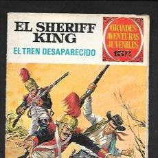 Tebeos: GRANDES AVENTURAS JUVENILES NUMERO 6 EL SHERIFF KING EL TREN DESAPARECIDO. Lote 186025463