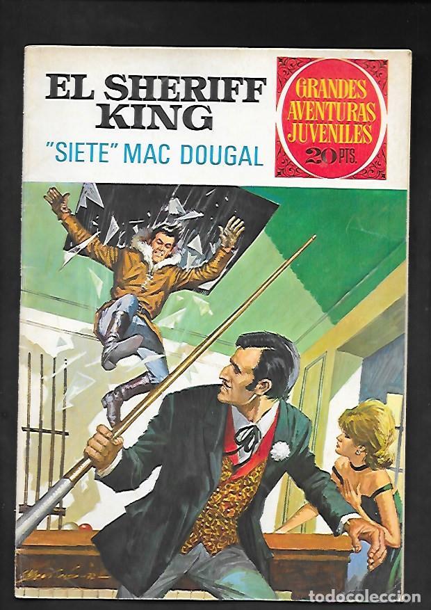 GRANDES AVENTURAS JUVENILES NUMERO 22 EL SHERIFF KING SIETE MAC DOUGAL (Tebeos y Comics - Bruguera - Sheriff King)