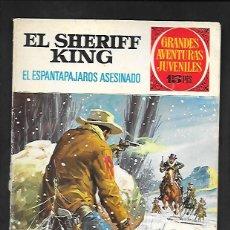 Tebeos: GRANDES AVENTURAS JUVENILES NUMERO 40 EL SHERIFF KING EL ESPANTAPAJAROS ASESINADO. Lote 186026215