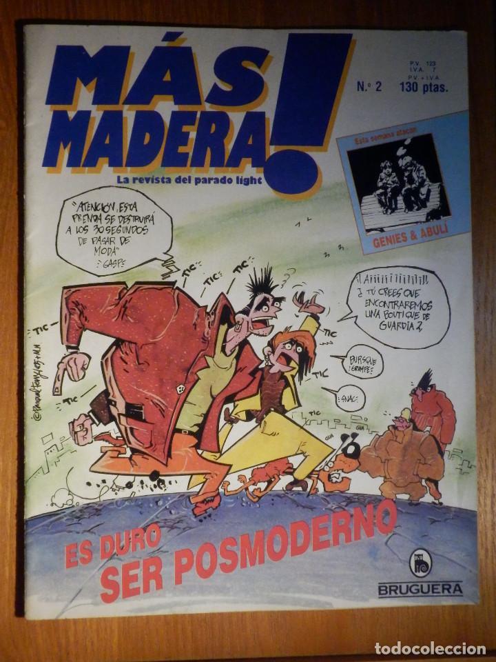 TEBEO - COMIC - MAS MADERA! LA REVISTA DEL PARADO LIGTH - Nº 2 - BRUGUERA (Tebeos y Comics - Bruguera - Otros)