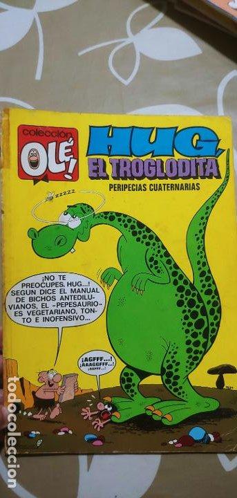 Tebeos: Colección Olé nº 61 Hug el Troglodita Gosset 1ª edición nº lomo Bruguera 1972 muy difícil - Foto 2 - 186056517