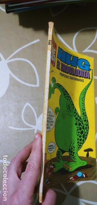 Tebeos: Colección Olé nº 61 Hug el Troglodita Gosset 1ª edición nº lomo Bruguera 1972 muy difícil - Foto 4 - 186056517