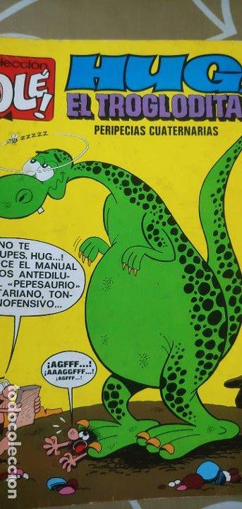 Tebeos: Colección Olé nº 61 Hug el Troglodita Gosset 1ª edición nº lomo Bruguera 1972 muy difícil - Foto 6 - 186056517