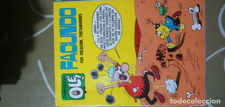 Tebeos: Colección Olé nº 37 Facundo por vocación trotamundos Gosset 1ª edición nº lomo Bruguera 1971 MBE - Foto 2 - 186057267