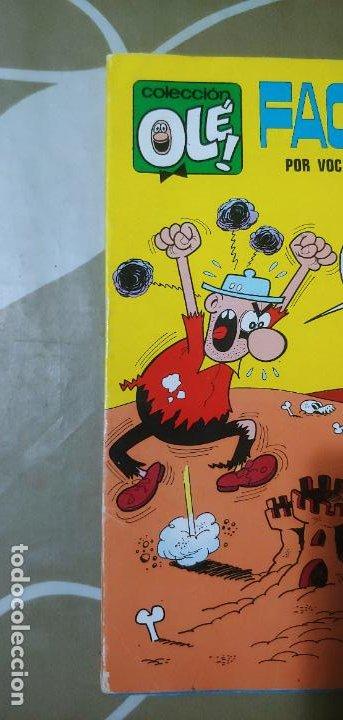 Tebeos: Colección Olé nº 37 Facundo por vocación trotamundos Gosset 1ª edición nº lomo Bruguera 1971 MBE - Foto 6 - 186057267