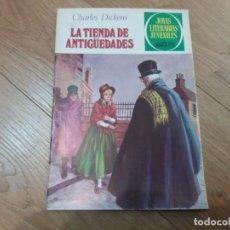 Tebeos: LA TIENDA DE ANTIGÜEDADES. CHARLES DICKENS. N° 154. BRUGUERA. JOYAS LITERARIAS. 1979.. Lote 186069977