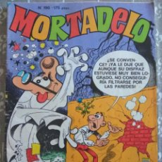 Tebeos: COMIC TEBEO MORTADELO Nº 196 AGAMENÓN 13 RUE DEL PERCEBE SPORTY PAFMAN EDICIONES B. Lote 31255922