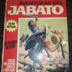 Tebeos: 1970 JABATO COLOR EXTRA ALBUM ROJO BRUGUERA Nº 5 LOS SICARIOS DE KIRO. Lote 186154615