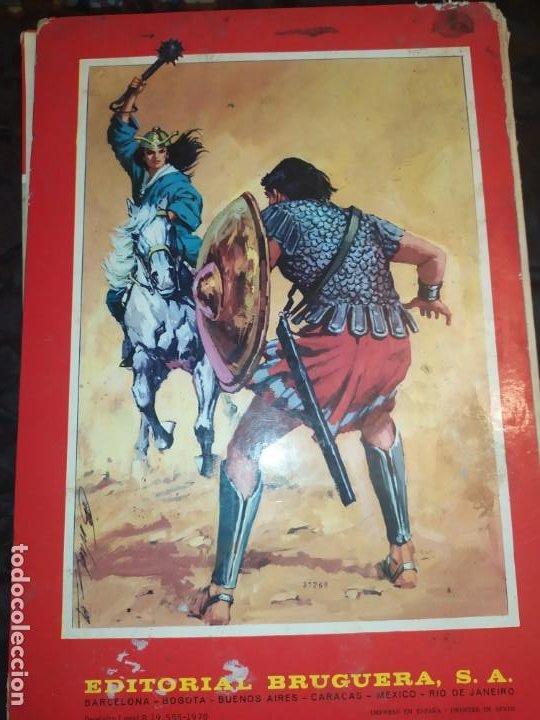 Tebeos: 1970 JABATO COLOR EXTRA ALBUM ROJO BRUGUERA Nº 5 LOS SICARIOS DE KIRO - Foto 5 - 186154615
