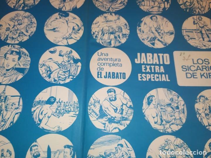 Tebeos: 1970 JABATO COLOR EXTRA ALBUM ROJO BRUGUERA Nº 5 LOS SICARIOS DE KIRO - Foto 7 - 186154615