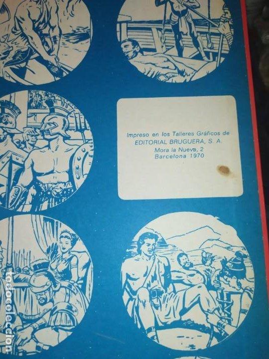 Tebeos: 1970 JABATO COLOR EXTRA ALBUM ROJO BRUGUERA Nº 5 LOS SICARIOS DE KIRO - Foto 8 - 186154615