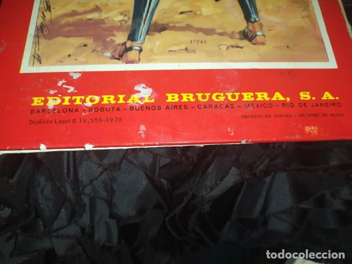 Tebeos: 1970 JABATO COLOR EXTRA ALBUM ROJO BRUGUERA Nº 5 LOS SICARIOS DE KIRO - Foto 11 - 186154615