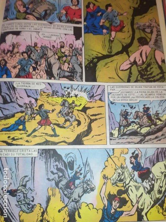 Tebeos: 1970 JABATO COLOR EXTRA ALBUM ROJO BRUGUERA Nº 5 LOS SICARIOS DE KIRO - Foto 12 - 186154615