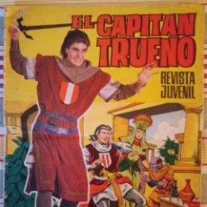 Tebeos: EL CAPITÁN TRUENO Nº 44 - ALBUM GIGANTE- LA ARGUCIA DE TALINGOH - 1964. Lote 186154896