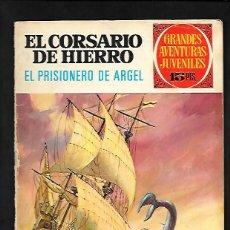 Tebeos: GRANDES AVENTURAS JUVENILES NUMERO 19 EL CORSARIO DE HIERRO EL PRISIONERO DE ARGEL. Lote 186158430