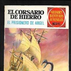 Tebeos: GRANDES AVENTURAS JUVENILES NUMERO 19 EL CORSARIO DE HIERRO EL PRISIONERO DE ARGEL. Lote 186158582