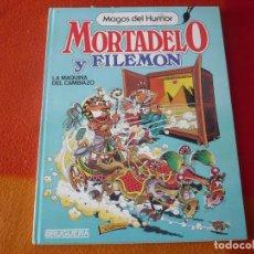 Tebeos: MORTADELO Y FILEMON MAGOS DEL HUMOR 10 LA MAQUINA DEL CAMBIAZO 1º EDICION 1985 TAPA DURA BRUGUERA. Lote 186322093