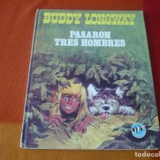 Tebeos: BUDDY LONGWAY PASARON TRES HOMBRES JET 13 ( DERIB ) ¡BUEN ESTADO! TAPA DURA BRUGUERA. Lote 186323348