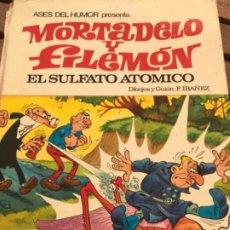 Tebeos: TEBEO MORTADELO Y FILEMÓN EL SULFATO ATÓMICO 1978. Lote 186404951
