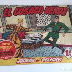 Tebeos: EL COSACO VERDE - NUMERO 11 - BRUGUERA, ORIGINAL - GCH. Lote 186739095