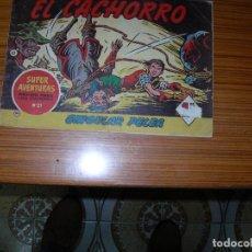 Tebeos: EL CACHORRO Nº 165 EDITA BRUGUERA . Lote 186836955