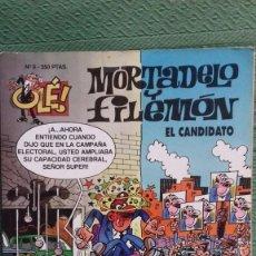 BDs: MORTADELO Y FILEMON, EL CANDIDATO, PRIMERA EDICION MAYO 1993. Lote 187099667