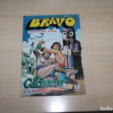 Tebeos: BRAVO Nº 7, (EL CACHORRO Nº 4), EDITORIAL BRUGUERA. Lote 187111170