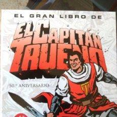 Tebeos: EL GRAN LIBRO DEL CAPITÁN TRUENO - ARMONÍA RODRÍGUEZ. Lote 187161601