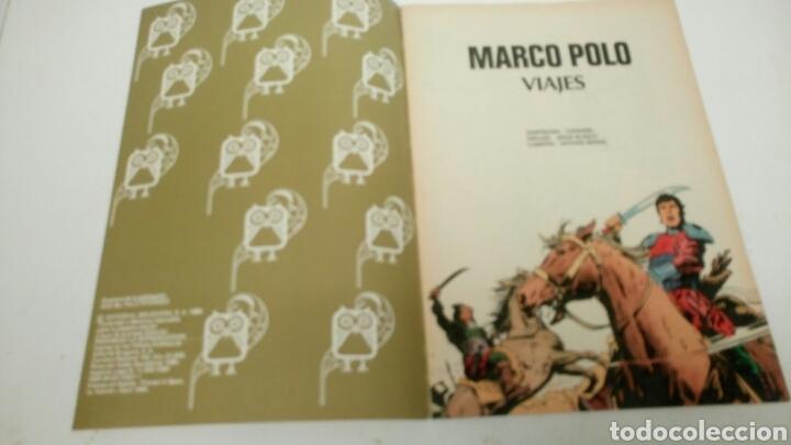 Tebeos: Marco Polo, viajes. Joyas Literarias Juveniles. Segunda etapa. - Foto 2 - 187172020