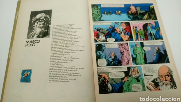 Tebeos: Marco Polo, viajes. Joyas Literarias Juveniles. Segunda etapa. - Foto 5 - 187172020
