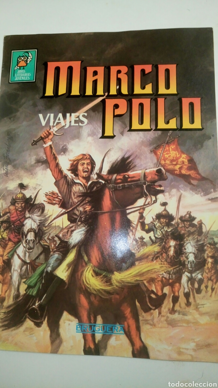 MARCO POLO, VIAJES. JOYAS LITERARIAS JUVENILES. SEGUNDA ETAPA. (Tebeos y Comics - Bruguera - Joyas Literarias)