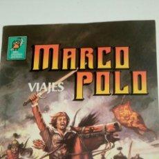 Tebeos: MARCO POLO, VIAJES. JOYAS LITERARIAS JUVENILES. SEGUNDA ETAPA.. Lote 187172020