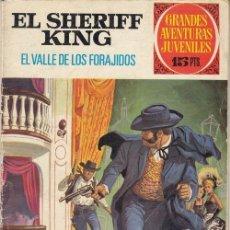 Tebeos: GRANDES AVENTURAS JUVENILES Nº 39 - EL SHERIFF KING - EL VALLE DE LOS FORAJIDOS - BRUGUERA. Lote 187172397