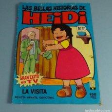 Tebeos: LAS BELLAS HISTORIAS DE HEIDI Nº 17. LA VISITA. Lote 187186710