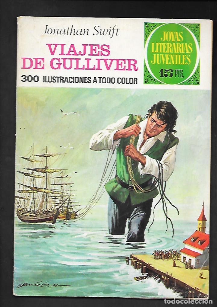 JOYAS LITERARIAS JUVENILES NUMERO 105 VIAJES DE GULLIVER (Tebeos y Comics - Bruguera - Joyas Literarias)