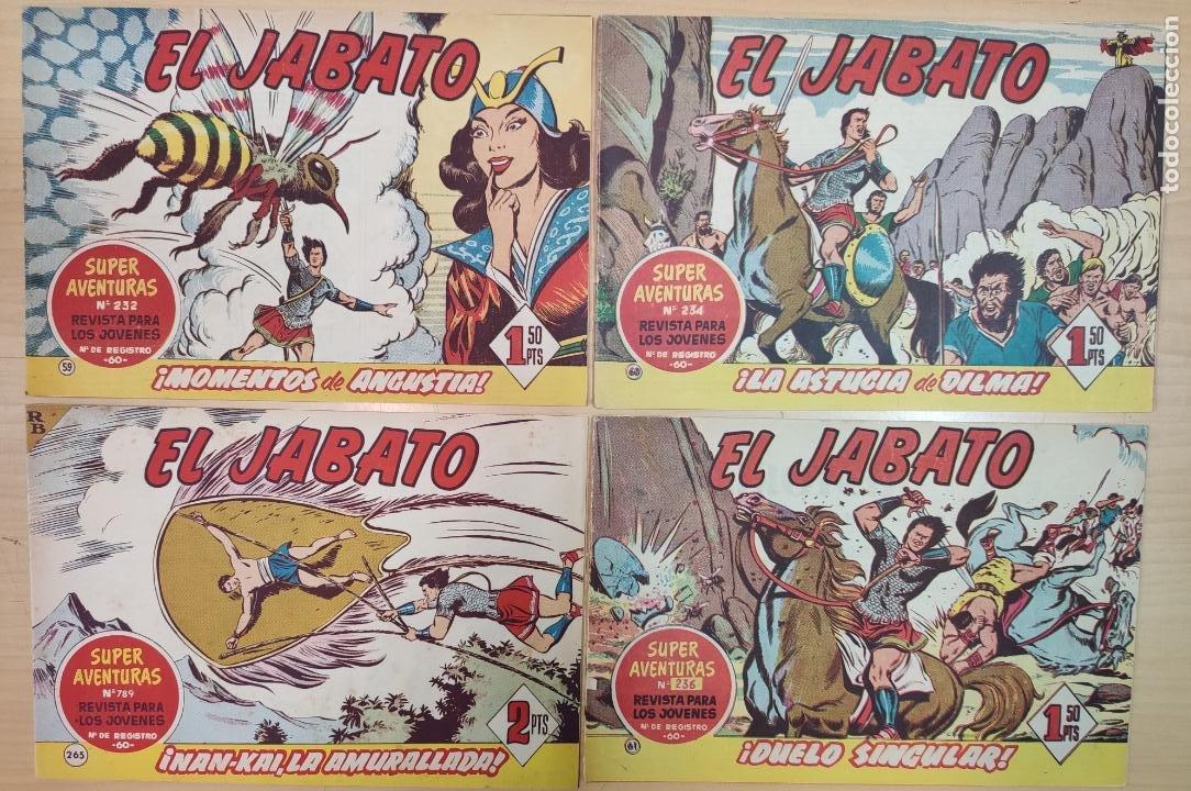 EL JABATO, EDT. BRUGUERA, BARCELONA 1958 (Tebeos y Comics - Bruguera - Jabato)