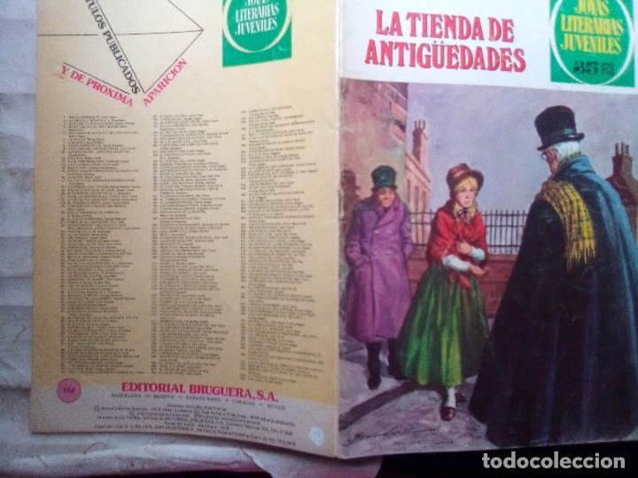 Tebeos: JOYAS LITERARIAS JUVENILES- Nº 154 -LA TIENDA DE ANTIGÜEDADES-CASAMITJANA-2ª EDIC-1979-DIFÍCIL-2528 - Foto 2 - 187395565
