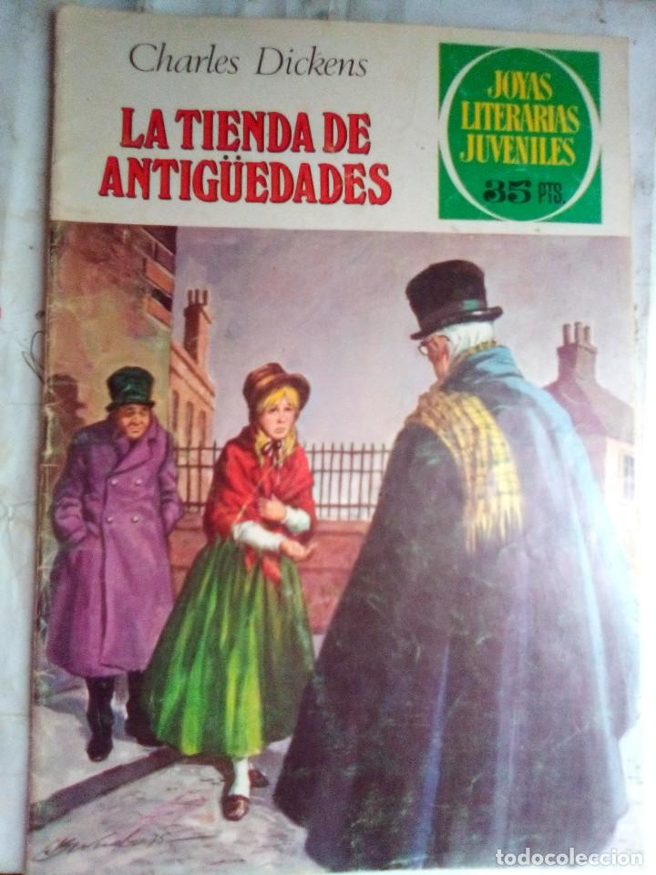 JOYAS LITERARIAS JUVENILES- Nº 154 -LA TIENDA DE ANTIGÜEDADES-CASAMITJANA-2ª EDIC-1979-DIFÍCIL-2528 (Tebeos y Comics - Bruguera - Joyas Literarias)