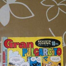 Tebeos: GRAN PULGARCITO Nº 39 BRUGUERA . Lote 187427202