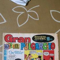 Tebeos: GRAN PULGARCITO Nº 2 DOS BRUGUERA . Lote 187428548