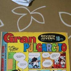 Tebeos: GRAN PULGARCITO Nº 36 BRUGUERA . Lote 187428676