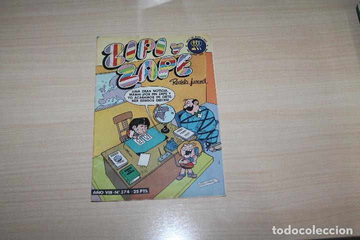 ZIPI Y ZAPE Nº 374, EDITORIAL BRUGUERA (Tebeos y Comics - Bruguera - Otros)